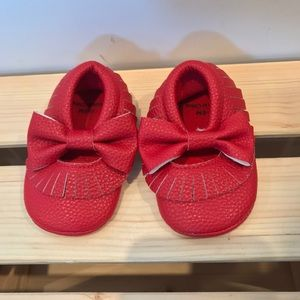 Other - Red bow Moccasin